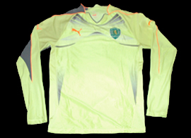 goal keeper shirt Sporting 2010 2011 green