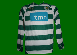 National League shirt Sporting Maniche 2010 2011