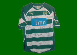 Sporting Lisboa USA Postiga 2010 match worn