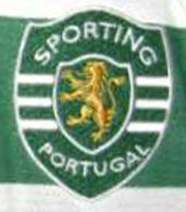 SCP 10 11 Rochemback camisola falsa emblema Sporting