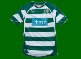 new kit Sporting 2010 2011
