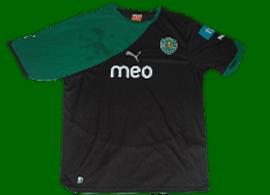 Shirt Sporting Lisbon 2010 2011 3rd