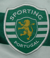 player issue football jersey Sporting Lisbon