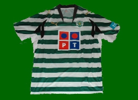 player issue football shirt Sporting Portugal