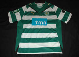 Player issue Sporting Portugal Caicedo 2009 2010