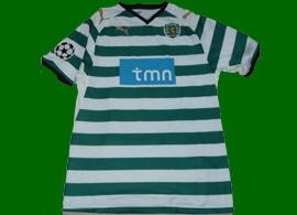 Sporting de Lisboa Grimi maglia indossata Portogallo