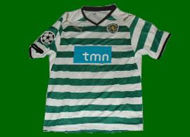 Paulinho kit manager Sporting Lisbon shirt
