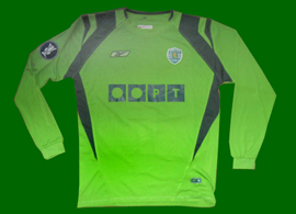 Sporting Lisboa match worn shirt