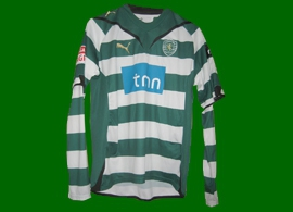 Match worn Sporting Portugal Tonel 2009 2010