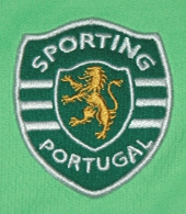 Camisola alternativa Sporting 2009 2010 logo
