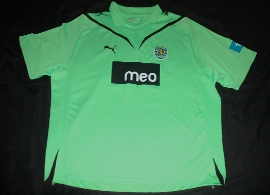 Camisola alternativa Sporting 2009 2010