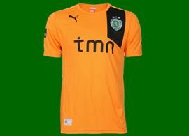 New orange away Sporting Lisbon 2012 2013 shirt