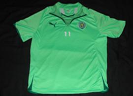 Sporting Lisbon camisola training shirt 2009 2010 Caicedo