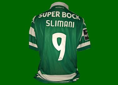 Equipamento de jogo do Islam Slimani