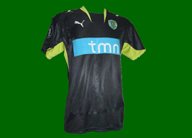 Sporting Farnerud UEFA season 2007 2008 away kit