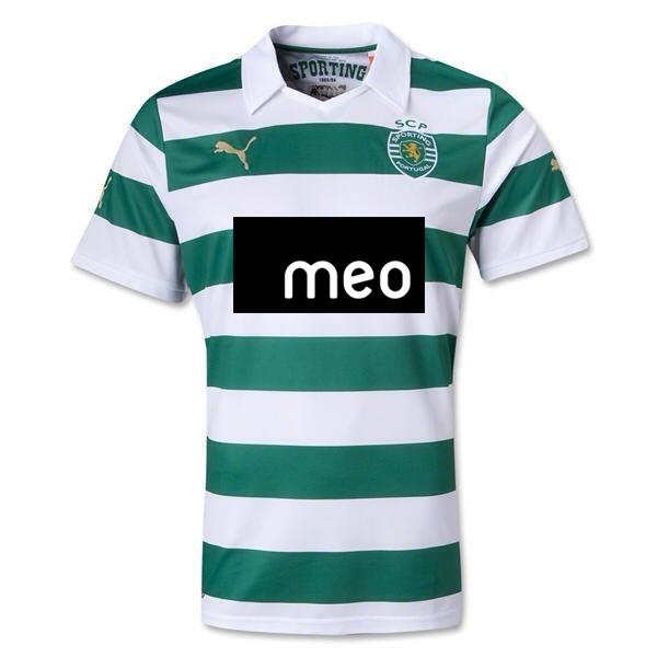 nova camisola do Sporting 2013 2014