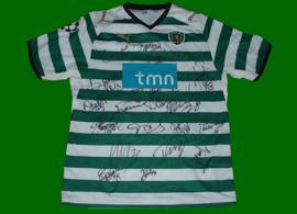 strip worn in Lisbon against Barcelona 26 November 2008, an historical humiliation