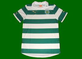 Sporting Lisbon new home jersey 2011/12 no sponsor