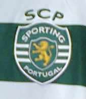Sporting Lisbon player shirt, Europe League model, from the official club shop