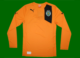 New orange away Sporting Lisbon soccer jersey 2012 2013
