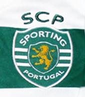 camisola de jogo do Sporting Insua Liga Europa
