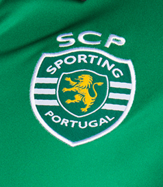 2017/18. Equipamento Stromp do Sporting
