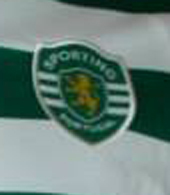2007/08. Hooped match worn kit of Simon Vukcevic, Sporting Clube de Portugal