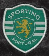 2007/08. away Sporting Lisbon UEFA Cup black jersey of Djalo - light as a brick