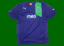 Sporting Lisbon Puma prototype blue/violet. Player issue, without the QR code
