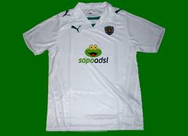 Camisola alternativa patrocinio sapo Sporting 2008/09