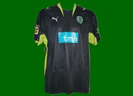 match worn by the world champion Polga 2007 Sporting Lisbon Brazil