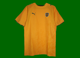 Sporting Lisbon 2007/08 Away shirt, without sponsor, with the Clubs crest embroidered
