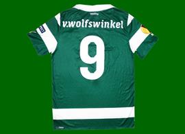 camisola de jogo do Ricky van Wolfswinkel Sporting Liga Europa
