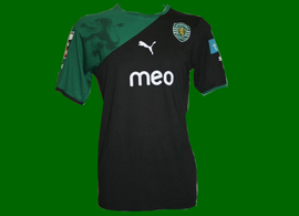 away jersey player Abel Sporting Portugal 2010 2011