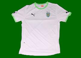 Sporting Lisbon new away shirt 2011 2012 no sponsor tmn