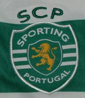 Camisola de jogo do Sporting Carriço contra a Juventus a 23 de Julho de 2012