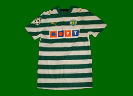 Camisola de jogo do Carlos Martins Sporting