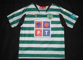 Camisola de criança pequena (5/6 anos) do Sporting, 2007/08