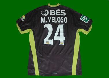 jogador de futebol Miguel Veloso, na Taça da Liga