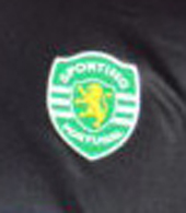 Sporting Lisbon black goal keeper jersey, replica