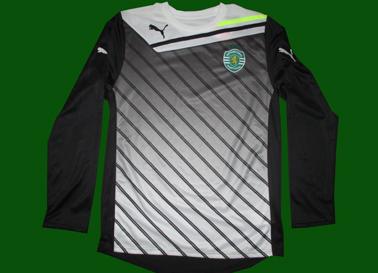 2011/12, camisola de guarda redes, protótipo da Puma