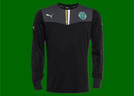 camisola de guarda-redes 2013/14 do Sporting negro, à venda na Loja Verde