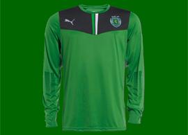 camisola de guarda-redes 2013/14 do Sporting verde, à venda na Loja Verde