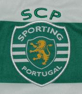 Nova camisola listada cor de laranja do Sporting 2012 2013, da Loja Verde
