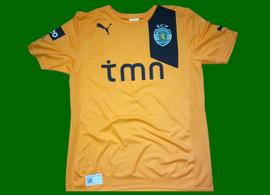 Orange away top, Sporting Lisbon 2012/13