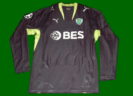 Match worn soccer jersey kit Sporting Portugal Paredes
