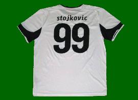 equipamento de reserva Liga Europa do Sporting alternativo branco 2010 2011