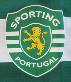 Sporting 2006/07 Home jersey, without sponsor