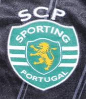 Camisola de treino preta do Sporting 2011 2012