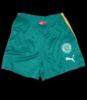 Child away kit, size 5/6 years Sporting yellow shirt